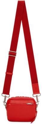 Givenchy Red MC3 Reverse Logo Crossbody Bag