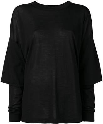 08sircus fine knit layered sweater