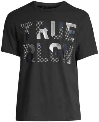True Religion Rubber Metallic Tee