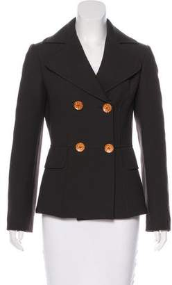 Dolce & Gabbana Wool Short Coat