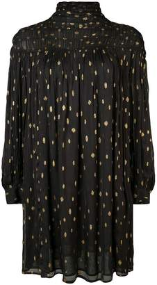 Frame polka dot shift dress