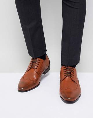 New Look Brogues In Tan