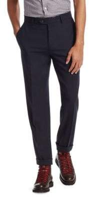 Brunello Cucinelli Twist Flat Front Dress Pants