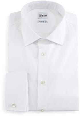 Armani Collezioni Modern-Fit Dress Shirt, White