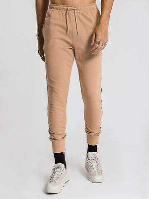 Wilson New Henleys Mens Track Pants In Tan Pants & Chinos Track Pants