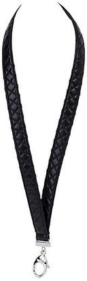 One Kings Lane Vintage Chanel Leather Lanyard - Vintage Lux
