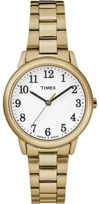 Timex Ladies Gold 'Easy Reader' Analogue Bracelet Watch Tw2r23800