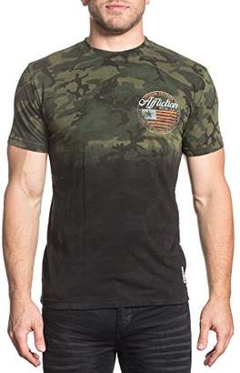 Affliction Men's Freedom Defender Short Sleeve Graphic T-Shirt