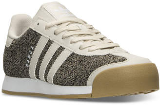 adidas Men's Samoa Textile Casual Sneakers from Finish Line $69.99 thestylecure.com