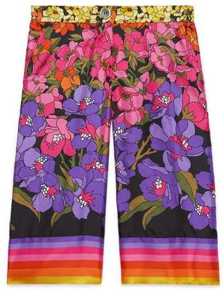 Gucci Children's degradé flowers pant