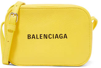 Balenciaga Everyday Xs Aj Printed Textured-leather Camera Bag