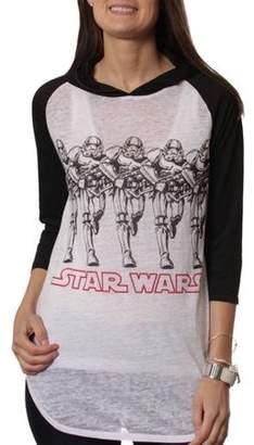 Star Wars Juniors' Hooded Raglan Tee