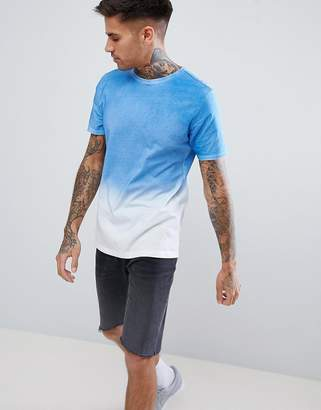 Another Influence Bold Ombre Fade Out T-Shirt