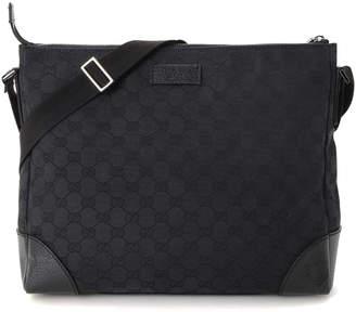 Gucci Canvas Messenger Bag - Vintage