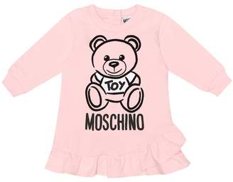 Moschino Kids Baby printed stretch-cotton dress