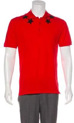 Givenchy Short Sleeve Polo Shirt