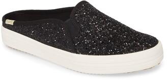 Kate Spade Keds® for new york Keds® x double decker glitter sneaker mule