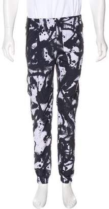 Tim Coppens Leather-Accented Track Pants