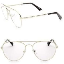 Hard Crimes 55MM Aviator Optical Glasses