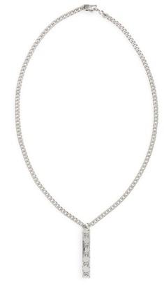Men's Gucci Ghost Motif Pendant Necklace $280 thestylecure.com