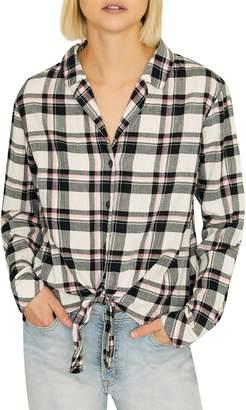 Sanctuary Colton Plaid Shirt