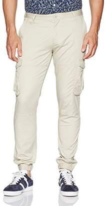 Armani Exchange A|X Men's Twill Cotton Spandex Cargo Pant