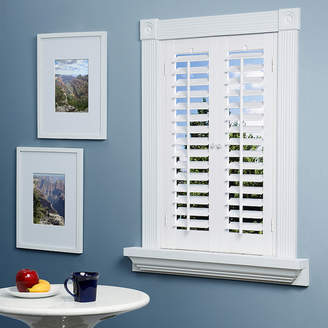 JCPenney JCP HOME HomeTM Faux-Wood Plantation Shutters - 2 Panels