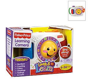 Fisher-Price Laugh & LearnTM Learning Camera