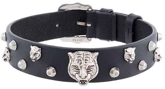feline head studded choker - Black Gucci 0ArzQRoM