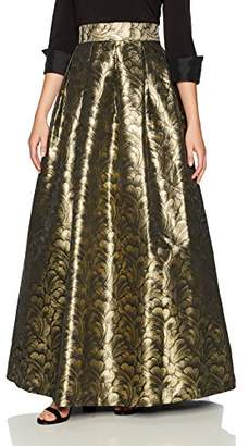 Jessica Howard Women's Separate Metallic Ballgown Skirt