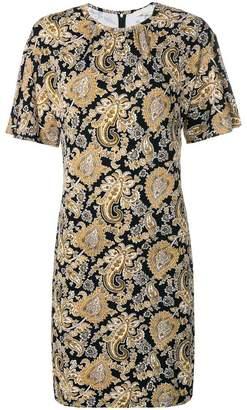 MICHAEL Michael Kors round neck printed dress