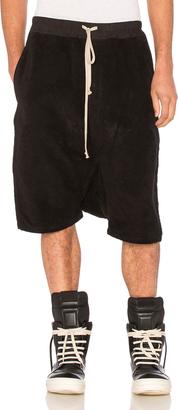 DRKSHDW by Rick Owens Pod Shorts $585 thestylecure.com