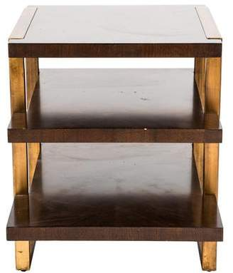 Stanley Furniture Walnut Side Table