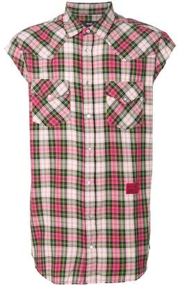 Diesel Be Brave checked shirt