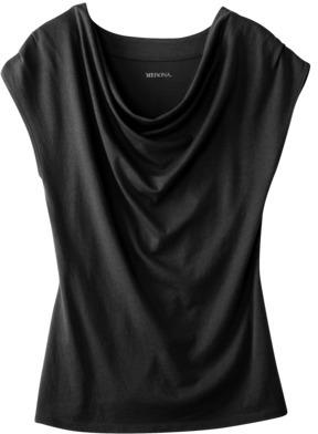 Merona Women's Cowl Neck Cap Sleeve Top - Assorted Colors