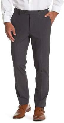Calvin Klein Grey Sharkskin Skinny Tapered Trousers