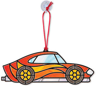 Melissa & Doug Stained Glass Made Easy - Race Cars Ornaments