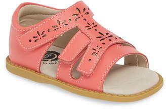 Livie & Luca Melody Perforated Glitter Sandal