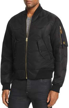 G Star Vodan Quilted Bomber Jacket