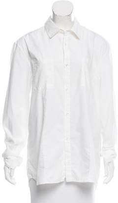 AR+ AR Woven Button-Up Shirt