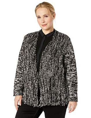 Nic+Zoe Women's Fringe Worthy Jacket