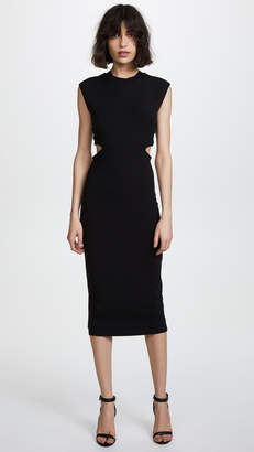 Alexander Wang Fitted Dress with Back Tie Detail