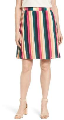 Gibson x Hi Sugarplum! Navio Pleat Skirt (Regular & Petite) (Nordstrom Exclusive)