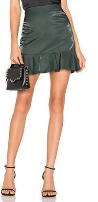 About Us Tina Metallic Skirt