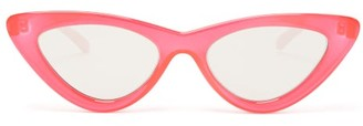 Le Specs The Last Lolita Cat Eye Sunglasses - Womens - Red