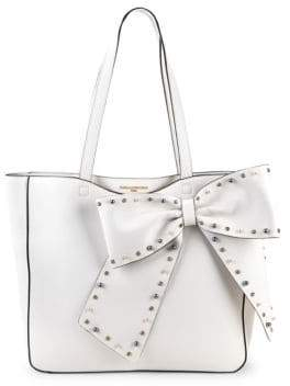 Embellished Bow Tote