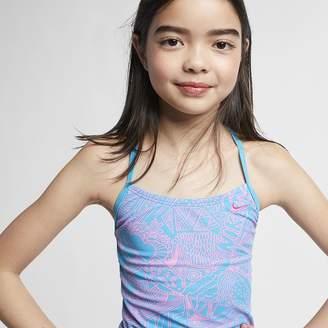 Nike Big Kids' (Girls') Tankini Set Doodle T-Back