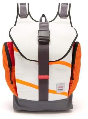 Sealand - Roamer Upcycled Canvas Backpack - Mens - Orange Multi