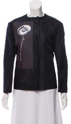 Prada Structured Silk Blazer