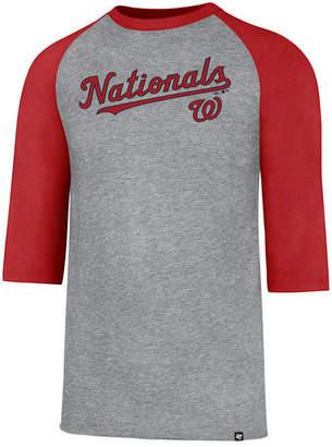 '47 Men's Washington Nationals Pregame Raglan T-shirt